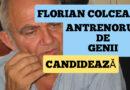Florian Colceag, antrenorul de genii, candidează cu AUR