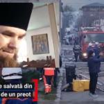 Fapta bună a săptămânii: Un preot ortodox din Constanța a intrat în foc pentru a salva o familie din parohia lui. Ajutat de alți doi bărbați, i-a evacuat pe bătrâni înainte de sosirea autospecialei de stingere