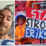 Fotbalistul Christian Eriksen, selfie şi mesaj pentru susţinători, de pe patul de spital